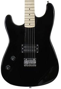 Jameson Full Size Black Electric Guitar With Humbucker Rock