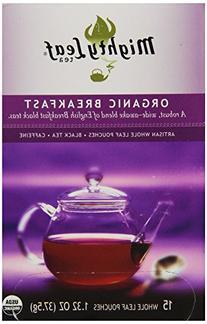 Mighty Leaf Whole Leaf Organic Breakfast Tea, 15 Tea Bags