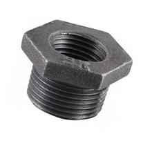 Ldr 1.50in. X 1.25in. Black Hexagon Bushings 310B-112114