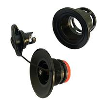 Black Inflatable Boat Halkey-Roberts Type Air Valve Fill and