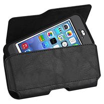 Kuteck® Black Leather Belt Holster Pouch Clip Fits For