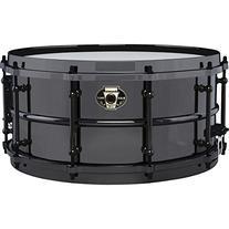 Ludwig Black Magic Snare Black 6.5X14
