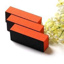 YESURPRISE 10PCS Black Orange Sanding Nail Art Diy