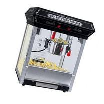 FunTime 8oz Black Popcorn Popper Machine Maker Cart Vintage