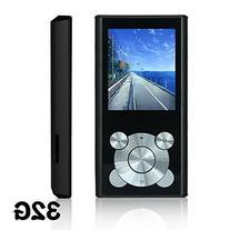 Tomameri Black 16GB Portable MP4 Player MP3 Player Video