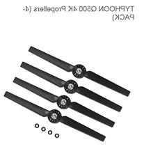 Yuneec Black Propeller Rotor Blade Sets A and B for Q500/