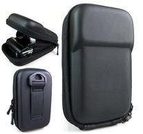 Co2Crea Black Semi-Hard EVA Digital Camera Case Bag Cover