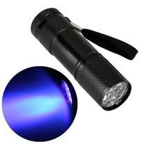Alldaymall Black Light Flashlight Urine Detector -