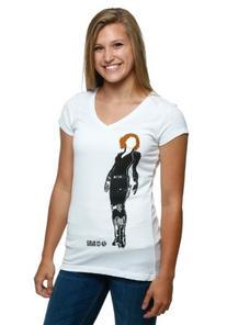 Womens Black Widow Avengers V-Neck T-Shirt