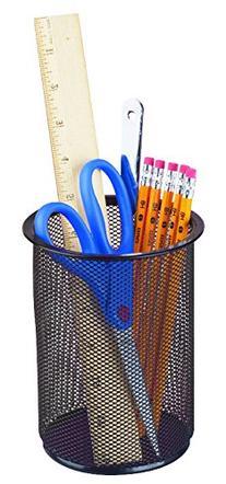 Staples Black Wire Mesh Jumbo Pencil Holder
