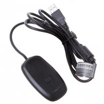 New Black PC Wireless Controller Gaming USB Receiver Adapter