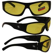 Birdz Eyewear Blackbird Aggro-Look Riding Sunglasses