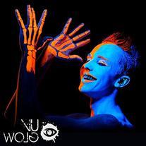 UV Glow Blacklight Neon Face & Body Paint - 0.34oz Set of 5