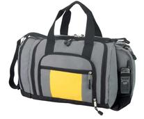 Blank Duffle Bag Duffel Bag with Ultimate Pockets in Gray