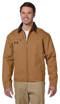 Dickies 10 oz. Duck Blanket Lined Jacket, 5XL, BROWN DUCK