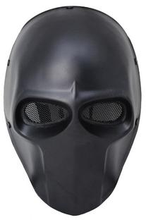 FMA New Blcak Wire Mesh Full Face Protection Paintball Skull