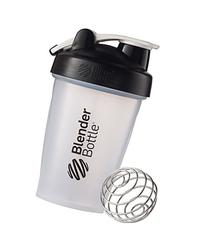 BlenderBottle Classic Loop Top Shaker Bottle, Clear/Black,