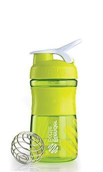 BlenderBottle SportMixer Tritan Grip Shaker Bottle, Green/
