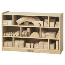 Medium Block Storage Cart