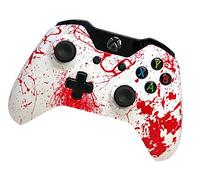 """""""Blood Splatter"""" Xbox One Custom Controller with Glossy"""
