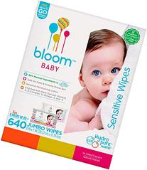 Baby Wipes by bloom BABY All-Natural Hypoallergenic