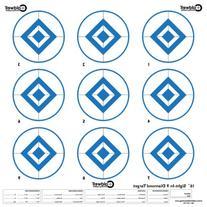 Caldwell Blue 9 Diamond Target , 10-Inch
