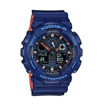 G-Shock Men's Blue Analog-Digital Watch with Layered Resin