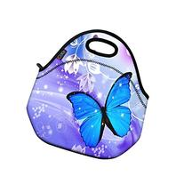 Blue Butterfly Thermal Neoprene Waterproof Kids Insulated