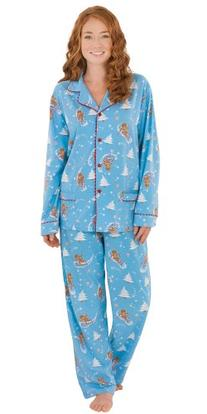 PajamaGram Flannel Gingerbread Fun Matching Family Pajama