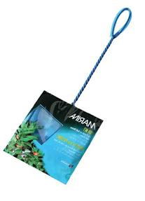 Marina 5 Inch Blue Fine Nylon Net with 10 Inch Handle