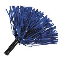 Blue Metallic Foil PomPoms