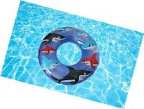 "Blue SHARK Swim Tube Flotation Ring 36"" by INTEX"