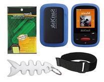 Blue Soft Skin Case + Screen Protector + Armband + Smart