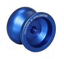 Yoyo King Blue Spin Control Metal Yoyo with Narrow