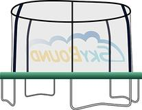 12 foot Trampoline Pad with 8 Enclosure Pole Cut-Out Holes