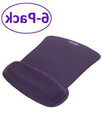 Blue Wave Rest Gel Filled Cushion Mouse Pad W/ Wrist Rest