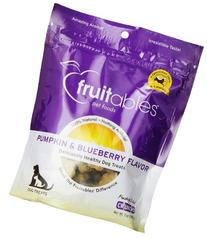 Fruitables Pumpkin & Blueberry Crunchy Dog Treats 1-7 ounce