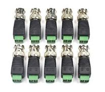 Bluecell 10 Pack Coaxial Camera Vedio BNC Male Balun