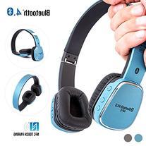 Bluetooth Headphones, Alpatronix HX110 High Performance
