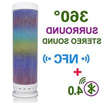 Liveinbright Bluetooth Speaker 10w Wireless LED Bluetooth 4.