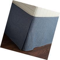 Lauren by Ralph Lauren Bluff Point Blue Vest Stripe QUEEN