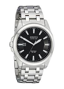 Citizen Men's Eco-Drive Stainless Steel Dress Watch with
