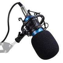 AW BM800 Pro Condenser Microphone Kit Shock Mount Home