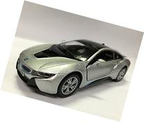 Kinsmart BMW i8 1:36 Scale Super Car, Gray