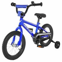 Vilano Boy's BMX Style Bike, Blue, 16-Inch