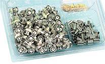 Bnc Crimp Plug Kit 100Pc Kit Rg59 75Ohm