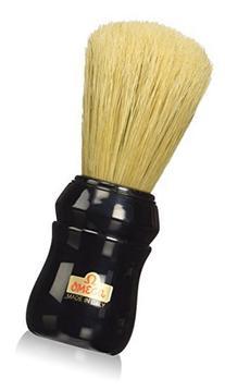 Omega Professional Boar Bristle Shaving Brush, Black Handle