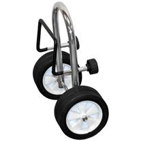 Boat or Canoe Transom 1-Person Dolly Cart