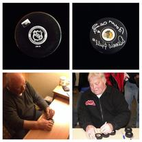 Bobby Hull Dennis Hull Chicago Blackhawks Signed Autograph