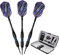 Viper Bobcat Adjustable Weight Soft Tip Darts with Storage/
